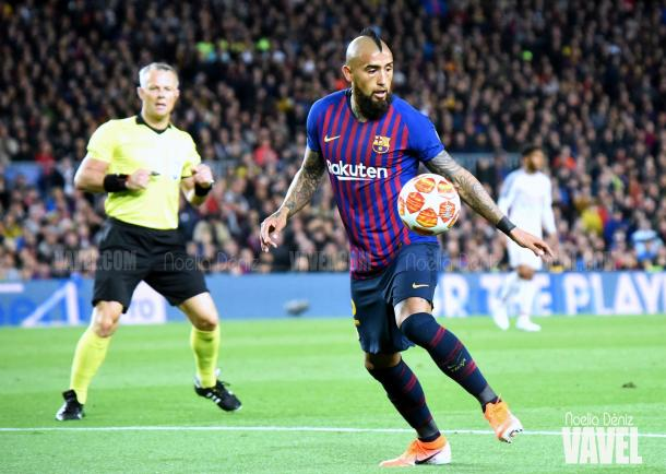 El centrocampista chileno se ha convertido en un fijo de Valverde / Foto: Noelia Déniz (VAVEL.com)