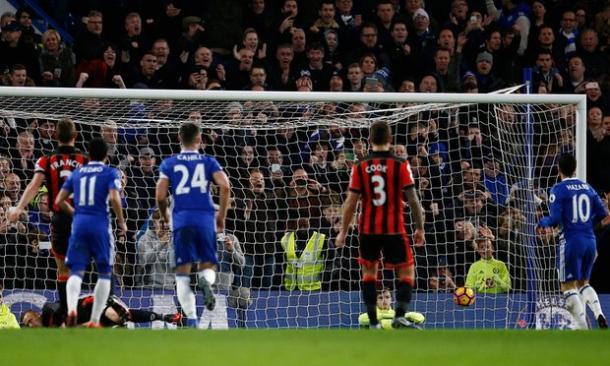 Il rigore trasformato da Hazard | Foto: