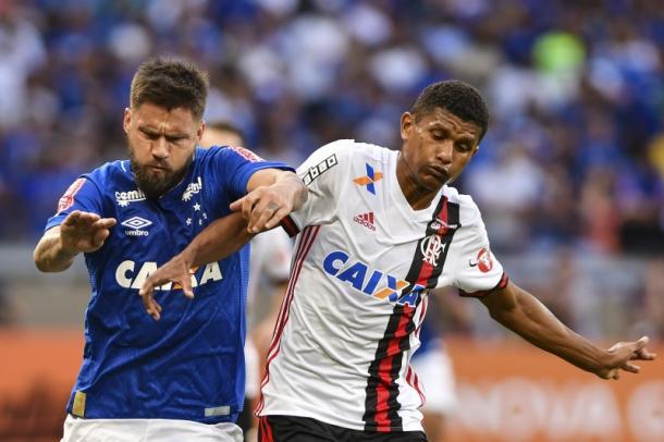 Sobis não estará em campo contra o Fluminense na próxima rodada. (Fotos: Maurício Farias/Cruzeiro)