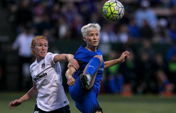 Megan Rapinoe will be looking to get on the score sheet | Source: Johnny Andrews-The Seattle Times
