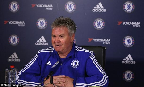 Guus Hiddink in conferenza stampa | Foto: Getty images