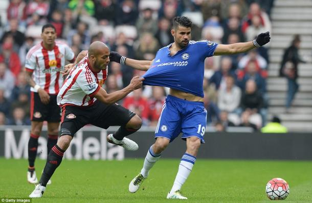 Sunderland produced one of their best performances to beat Chelsea. (Photo: Getty)