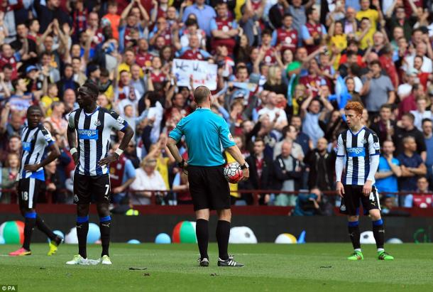 Newcastle were left more than just frustrated at full time on Saturday. (Photo: PA)