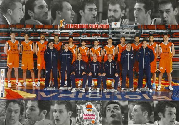 Pablo Laso en su etapa como entrenador en el Valencia Basket | Foto: Pamesa Valencia - Valencia Basket