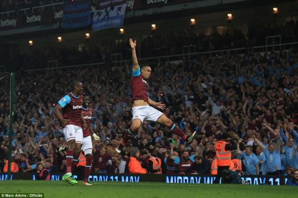 West Ham couldn't have bid farewell to Upton Park in better fashion. (Photo: Marc Atkins/Offside)
