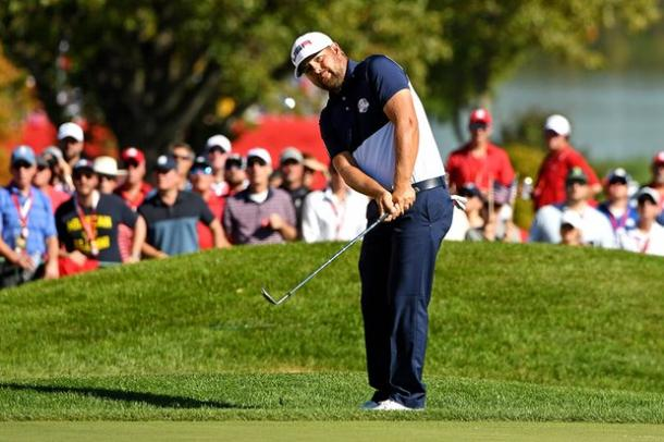 Ryan Moore earned the winning point for Team USA (photo: The Guardian)
