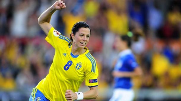 Schelin got the only goal for Sweden today | Source: sverigesradio.se