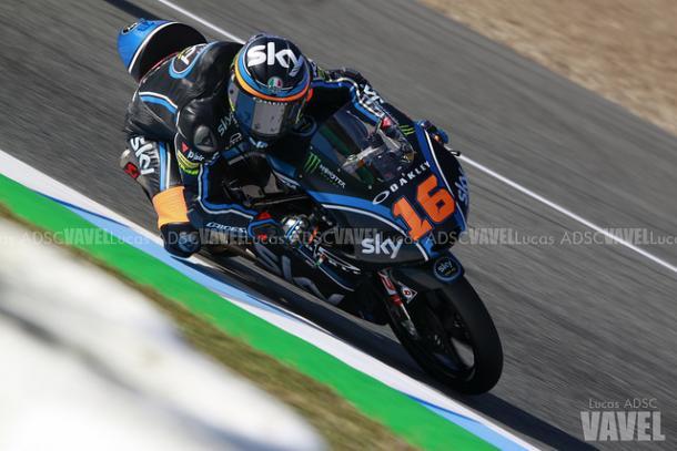 Andrea Migno en el GP de España   Foto: Lucas ADSC (VAVEL)