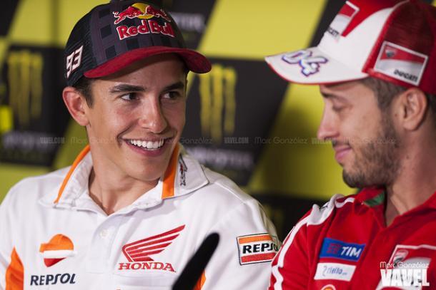Márquez y Dovizioso, aspirantes al título / Foto: Marc González