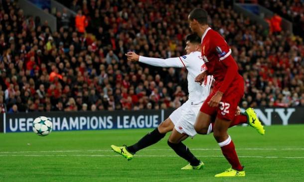 Il gol del pareggio di Correa | theguardian.com