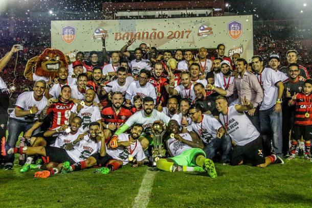 O campeonato baiano foi o único título na temporada do Vitória (Foto: Mauricia Da Matta/EC Vitória)