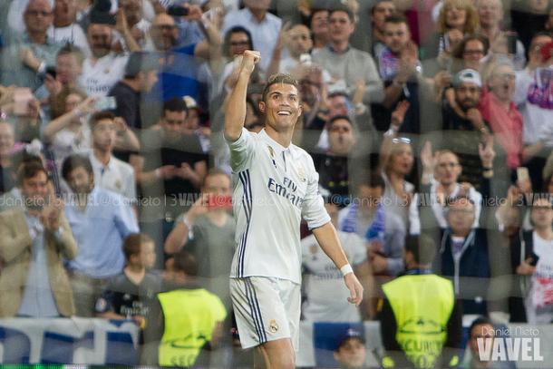 Ronaldo novamente encantava o Bernabéu