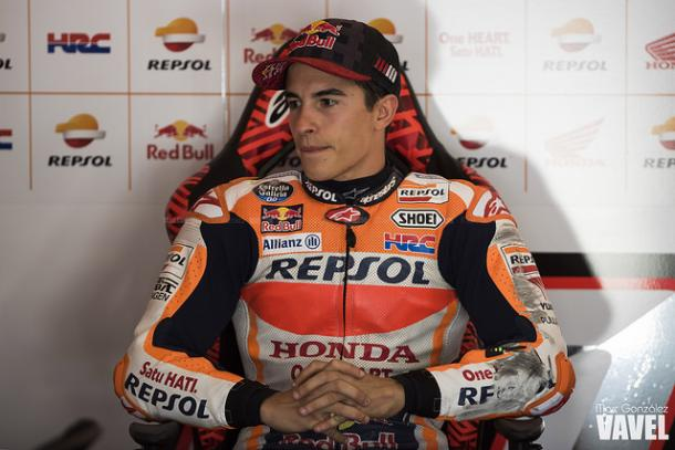 Márquez, cuarto mejor tiempo este viernes en Tailandia / Foto: Marc González