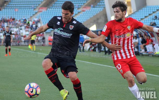 Imagen del partido entre el Almería-Numancia del 13 de Mayo de 2017   Fotografía: David García (VAVEL)