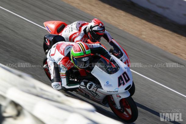Darryn Binder durante el Gran Premio de España. | FOTO: Lucas ADSC VAVEL