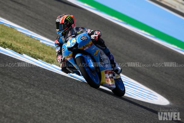 Aron Canet en el GP de España   Foto: Lucas ADSC (VAVEL España)