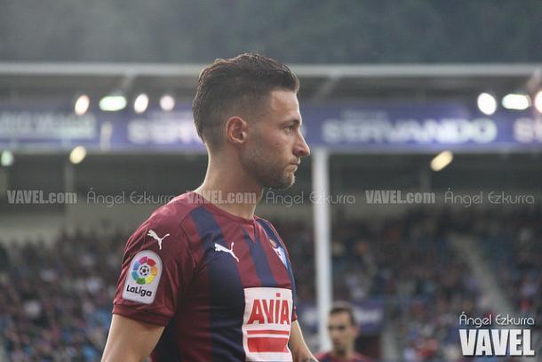 Juncà estaba en duda, debido a una lesión. Foto: Ángel Ezkurra-VAVEL-.