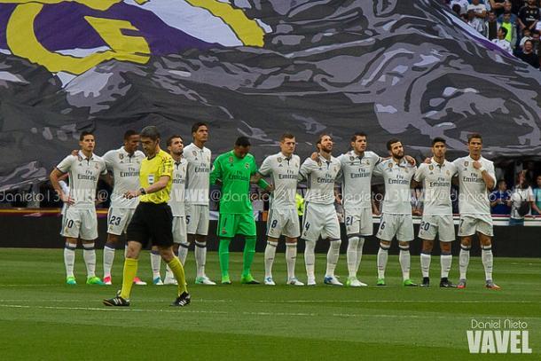 Once titular del Real Madrid en el último duelo de la 33 Liga conquistada I Foto: Daniel Nieto (VAVEL)