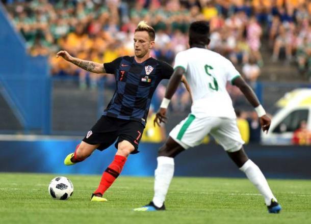 Ivan Rakitic , una de las principales figuras de Croacia | Foto: FIFA