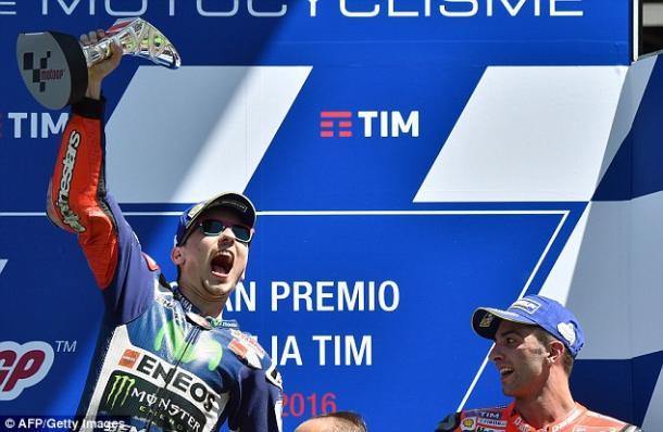 Lorenzo triumphant at Mugello despite early morning engine failure at Mugello (Getty)