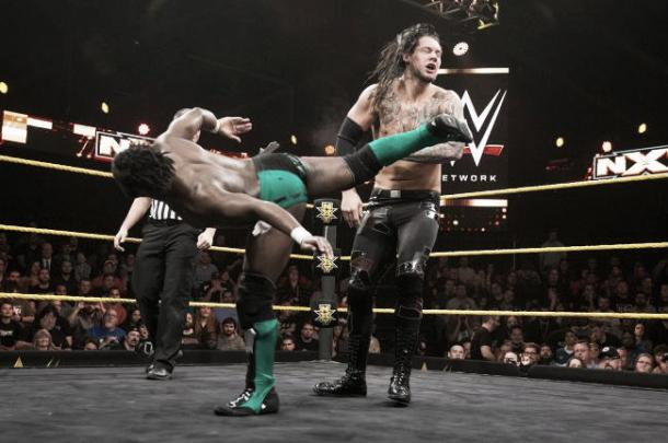 Rich Swann has impressed before in NXT. Photo- Bleacher Report