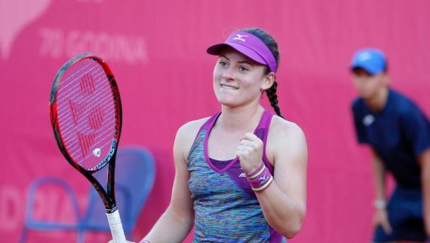 Tamara Zidansek will no doubt be proud of her week here in Moscow | Photo: Bol Open / WTA