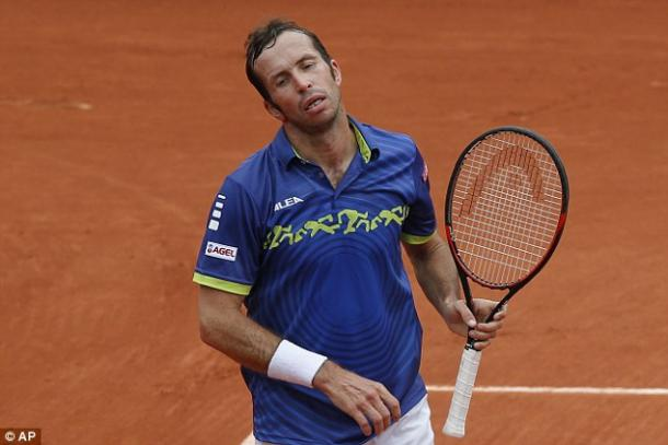 Stepanek's all wasn't enough in a five-set thriller. (Photo: AP)