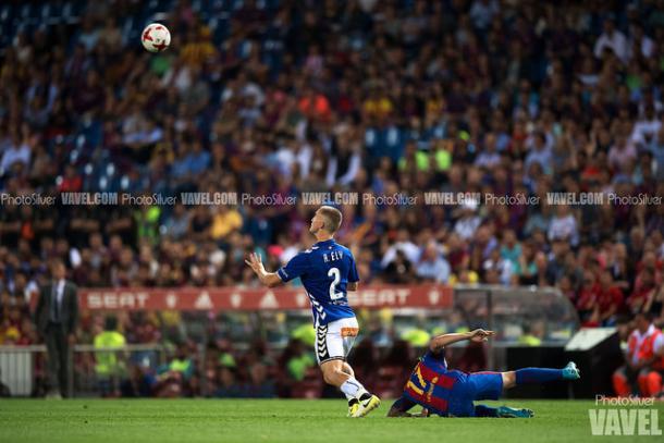 Ely en la final de Copa // Foto VAVEL