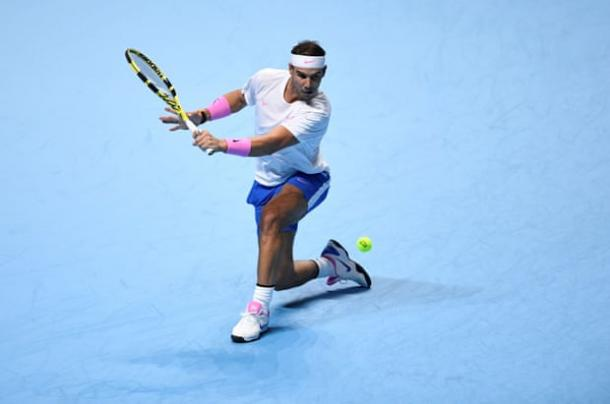 Nadal started and finished the second set with breaks of serve to force a third set/Photo: Tony O'Brien