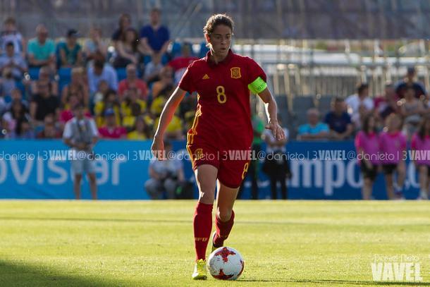Marta Torrejón, capitana de la Selección Española / Foto: Daniel Nieto (VAVEL)