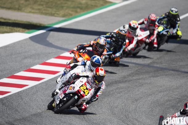 Suzuki encabeza uno de los grupos del GP de Cataluña. FOTO: Marc González - VAVEL