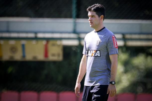 Durante sua passagem pelo Atlético, Giacomini assumiu a equipe profissional oito vezes (Foto: Bruno Cantini/Atlético-MG)