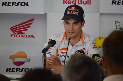 Dani Pedrosa durante la rueda de prensa previa al GP de Montmeló. Foto: Martin Velarde - VAVEL