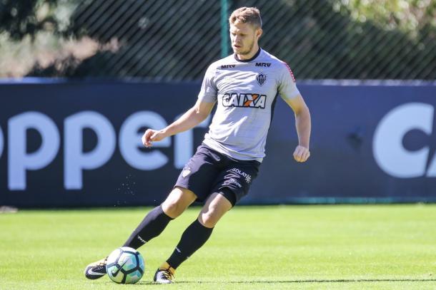 Meio-campista não rendeu no Galo em 2017 e firmou retorno ao Leão para 2018 (Foto: Bruno Cantini/Atlético-MG)