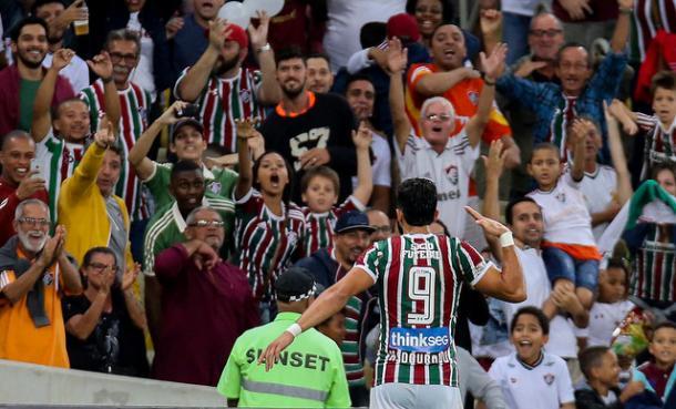 Henrique Dourado virou o artilheiro do ano com 24 gols (Foto: Lucas Merçon/Fluminense FC)