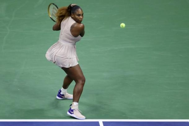 Williams remains on course for her 24th Grand Slam title/Photo: Matthew Stockman/Getty Images