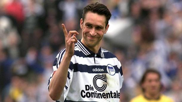 Preetz was the Bundesliga's top scorer in the 1998-99 season. | Photo: Bundesliga/Imago
