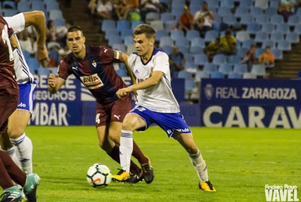 Lance del último partido de pretemporada del Eibar   Imagen: Andrea Royo - VAVEL