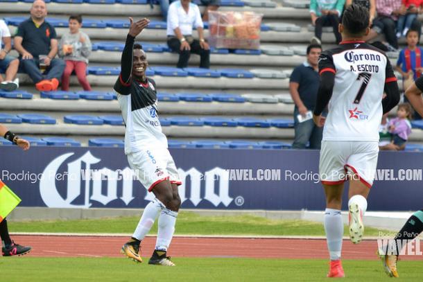 Julian Quiñones en festejo de gol | Foto: Rodrigo Peña VAVEL