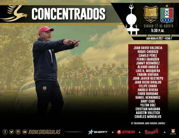 Partido entre Rionegro y Once Caldas fue suspendido por problemas de energía