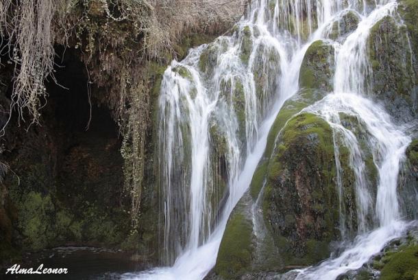 Cascadas del Paseo del Molinar en Tobera. Imagen: AlmaLeonor