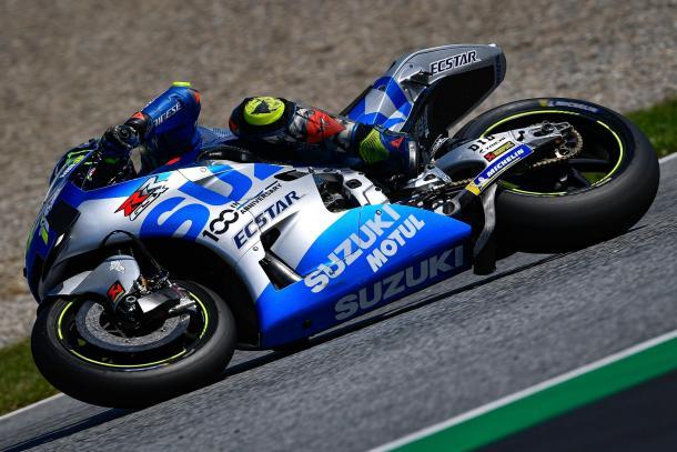 Mir contaba con una ventaja de más de un segundo. Imagen: MotoGP
