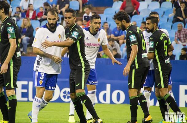 El Granada no pudo conseguir los tres puntos en su visita a La Romareda | Andrea Royo - VAVEL