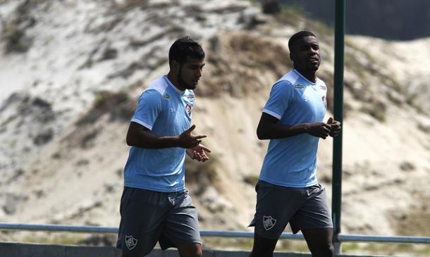 Sornoza retorna após três meses lesionado (Foto: Divulgação/Fluminense)