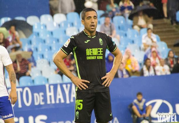 Pedro, el extremo derecho del Granada, será titular ante el Reus | Foto: Andrea Royo (Vavel)