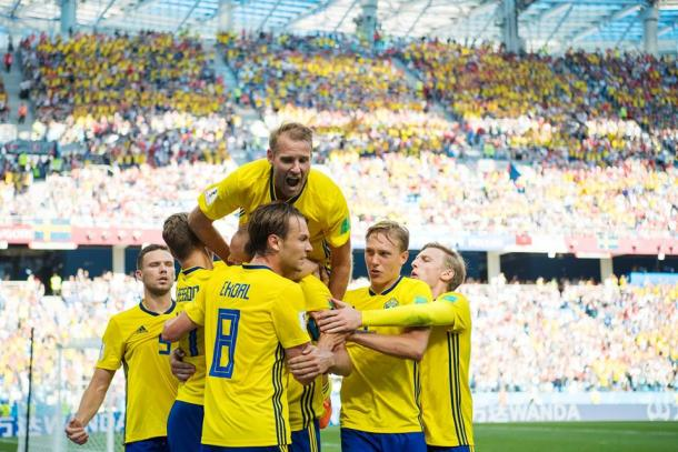 Fonte: Svensk Fotboll/ Facebook.