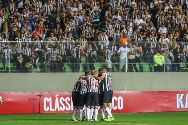 Na semi, Atlético passou pelo Paraná (Foto: Bruno Cantini/Atlético-MG)
