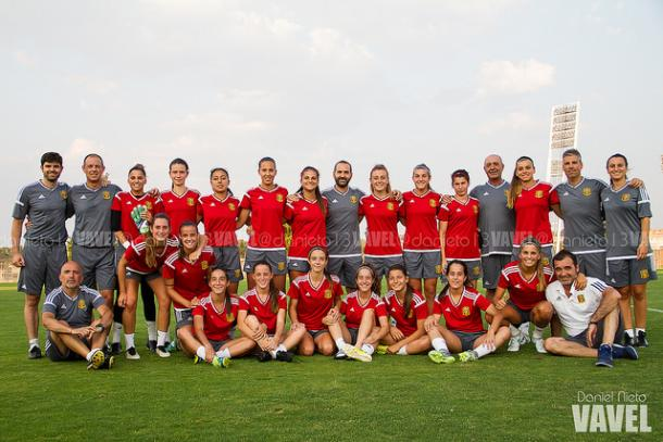 Selección Española sub-19 femenina | Foto: Daniel Nieto - VAVEL