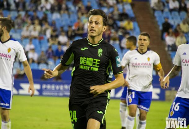 Javier Espinosa, uno de los fichajes del Granada CF | Foto: Andrea Royo (Vavel)