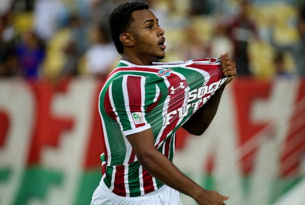 Wendel marcou o 3º gol dele no Brasileirão (Foto: Lucas Merçon/Fluminense FC)